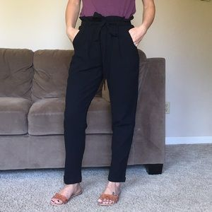 Pants - NEW BLACK trouser high waist pants